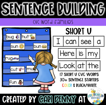 -UN Word Family Sentence Building