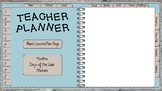 *UNDATED* DIGITAL TEACHER PLANNER