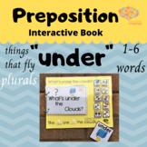 """UNDER"" Interactive Book, Plurals, Formulation, Things Tha"