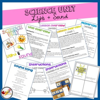 {UNIT} 1st Grade Science: Sound & Light