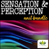 Sensation & Perception *UNIT BUNDLE*