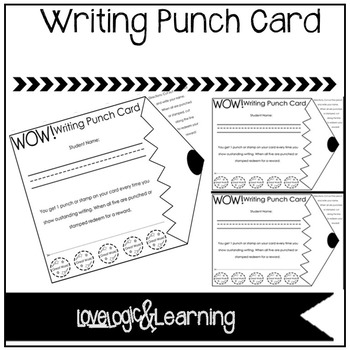 *UPDATED* Writing Punch Card