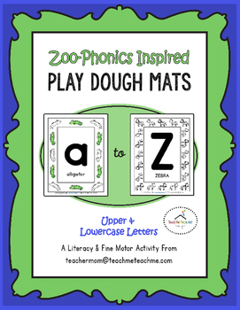 Zoo Phonics - Play Dough Mats