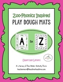 (UPPERCASE) Alphabet Play Dough Mats