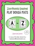 (UPPERCASE) Alphabet Play Dough Mats
