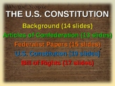 * U.S. Constitution UNIT (part 1 Background) visual, textual, interactive