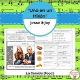 """""""Una en un Millón"""" and Spanish Food Vocabulary"""