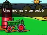 """""""Una mamá Y un bebé"""" Pre-Primer Sight Word Video, Slideshow & PDF"""
