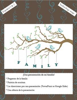 La Familia - Una Presentación de Mi Familia - Speaking Project