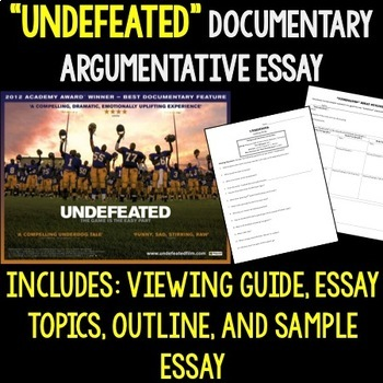 Undefeated Worksheets & Teaching Resources | Teachers Pay Teachers