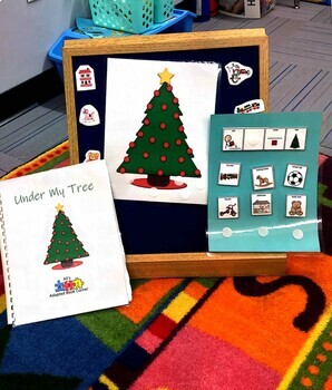 """Under My Tree"" adapted book for Special Ed and Autism"
