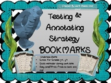 """""""Under the Sea"""" Manatee Testing & Annotating Bookmarks"""