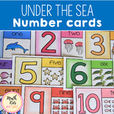 'Under the Sea' Number Cards