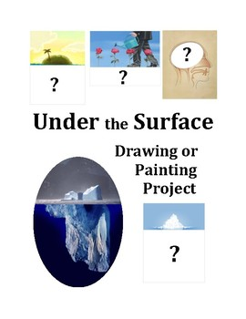 """Under the Surface"" Drawing or Painting Project"