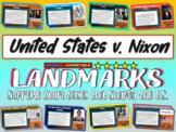 -United States v. Nixon- Landmark Supreme Court Case (PPT, handouts & more)