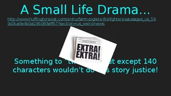 """""""Unpacking Evidence"""" Personal Narrative Expectations (PowerPoint)"""