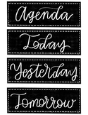 *Updated* Chalk Classroom Labels