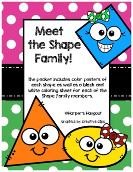 *Updated* Meet the Shape Family