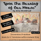 """Upon the Burning of Our House"" by Anne Bradstreet"