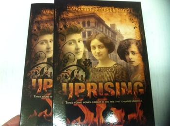 """Uprising"" books, by Margaret Peterson Haddix - Literature"