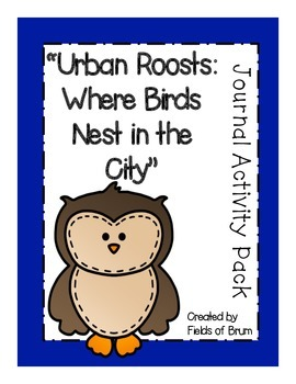 """Urban Roosts: Where Birds Nest in the City"" Journal Activ"