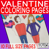 {VALENTINE COLOURING} {Valentines coloring sheets} {Valent