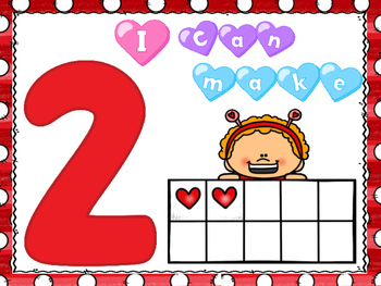 *VALENTINE FREEBIE #2* Playdough Mats with 10's Frames!
