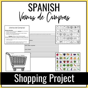 ¡Vamos de Compras!, Spanish Shopping Project