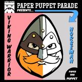 """VIKING WARRIOR"" Paper Bag Puppet"