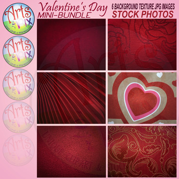 """Valentine's Day""  - Stock Photos - BKG Textures - mini BUNDLE"