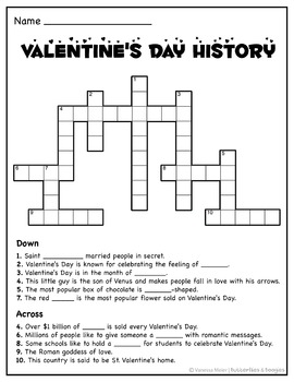 ♥ Valentine's Day Puzzle Pack ♥ Logic & Reading Printables 3rd / 4th / 5th gr  ♥