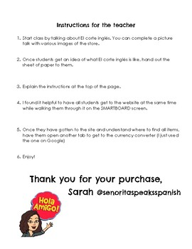 ¡Vamos de compras! El corte inglés websearch