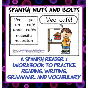 ¡Veo café!: A beginning Spanish workbook/reader