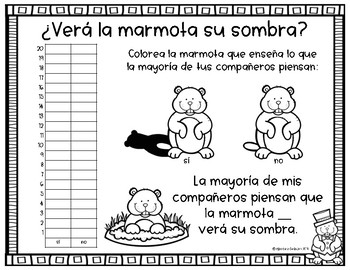 Groundhog's Day in Spanish - ¿Verá la marmota su sombra?