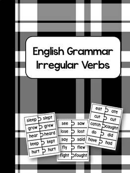 ★Verb tense★ Irregular verbs: Matching game / Past tense / Grammar