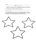 """Vincent"" Theme Activity (use with the song ""Vincent"" by D"