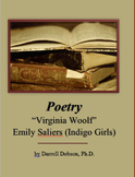 """Virginia Woolf"" by Emily Saliers / Indigo Girls -- Song Lyric / Poem"
