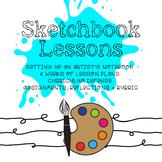 *Visual Art* Lesson Plans   Sketchbook   Grade 5-7