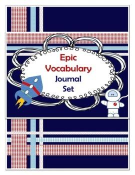 Vocabulary Binder Set: Template & Tools for True Retention