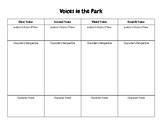 """""""Voices in the Park"""" Perspective, Point of View, and Character Traits"""