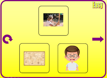 ▶️Vowel Review - Short A Chase Vocab Game - Picture Prompt - K-1 - PowerPoint