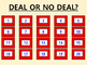 ▶️Vowels Review - Short A Deal or No Deal - Picture and Word Prompt - K-1 - PPT