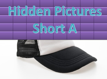 ▶️Vowels Review - Short A Hidden Pictures Game - Grade K-1 - PowerPoint