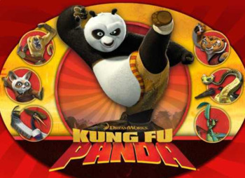 ▶️Vowels Review - Short I Kung Fu Panda Game - Picture & Word Prompt - K-1 - PPT