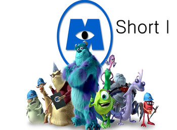 ▶️Vowels Review - Short I Monsters Inc. Game - Picture & Word Prompt - K-1 - PPT