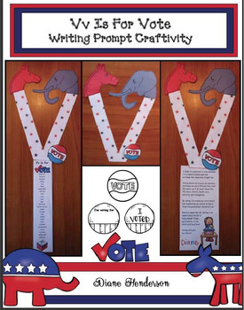"""Vv Is For Vote!"" Writing Prompt Craft"