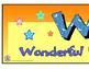 """""""W.O.W."""" Bulletin Board Header Freebie"""