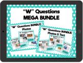 "Distance Learning ""W"" Questions: Interactive PDF MEGA BUNDLE"