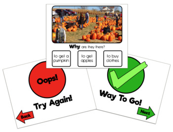 """""""W"""" Questions With Photos BUNDLE: Interactive PDFs"""