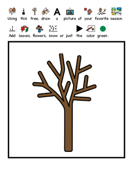 """""""WH"""" Adapted Visual Questions: All About Seasons (Autism, Speech, questions)"""